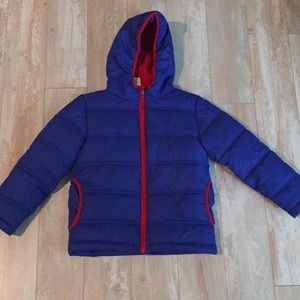 Other - Blue puffer jacket xs 4-5 super warm
